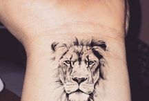 Tatoo lion