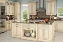 kitchen redo / by Linda Bagwell