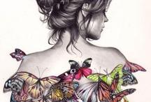 Butterfly & Girl