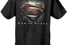 Superman Man Of Steel T-Shirts