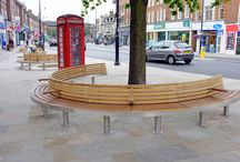 Twickenham Seating Project / Bespoke Tree seats to go into Twickenham high street and a few key surrounding areas.
