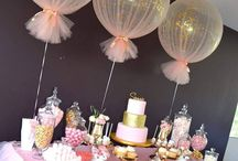 Balloons Centerpieces/Party/Bomboniere/Bunting Flags