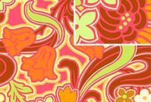 Fabric - Orange