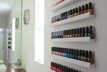 nail polish organizer diy