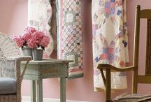 Decorating with Quilts / by Kathy Brigham