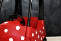 Disney Minnie & Mickey Mouse Party Ideas / Ideas for a Minnie Mouse and Daisy Duck and/or Mickey Clubhouse Birthday Party / by Carrie @ Crafty Moms Share