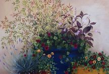 Flower Wall Painting