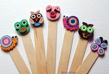 Quilled book mark