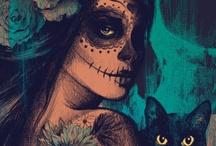 Dia De Los Muertos Makeup / by PaintedLadies