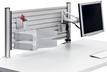 Werkplekken Inrichting / Het ergonomisch inrichten van werkplekken, met het juiste kabelmanagement, en het oog wilt ook wat? www.beugelsenmeer.nl