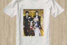 Black Butler Anime Tshirt