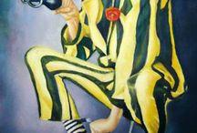 Clown Art