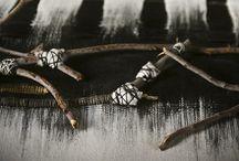 My woven hangings