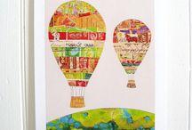 Collage for calendar art
