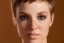 Kortkort hår