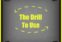 The Drill to Use / Wondering which drill is best for your cleaning project? This is what we recommend.