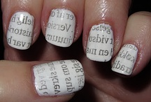 Pretty nails - art that's lovely!