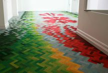 Flooring Ideas / The floor is one of the largest surfaces in your home. Making changes here can transform the entire look of your home.