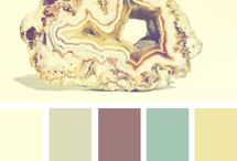 Paint Palettes / Color groups I seem to love...everytime I see 1 that I really like then I pin it...then go back to the board to see what colors I truly like best / by Amy Pitcher