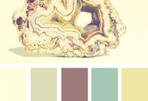 Palettes / Color combinations that inspire me