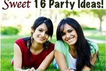 Sweet 16 Party Ideas / by Leigh Roper
