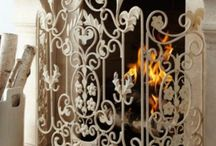 Fireplace screen's ..