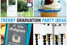 Graduation Party Ideas, Recipes and Inspiration / Ring in your kid's special milestone with fun, creative and totally cool graduation-themed recipes and party ideas!