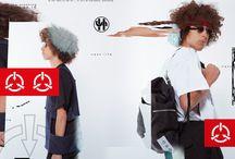 SHOOP SS16 Campaign / Photo: Matias Uris Hair & Make-up: Carlos Verbena Artwork: Michael Willis Models: Iman & Keran Rosales