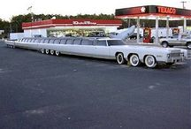 The limousine car's
