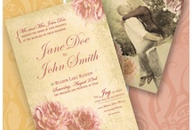 CHP Wedding Invitations / Wedding invitations made by Clover Hill Promotions. / by Katy O'Neill-Morrow