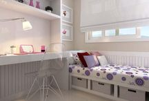 quartos perfeitos (que provavelmente  nunca vou ter) / Eu e minhas amigas , babando por esses quartos