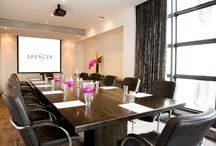 The Spencer - Business Meeting Rooms / When it comes to unique meeting rooms in Dublin City Centre, The Spencer Hotel is the newest, most stylish conference, meeting and event hotel in town. Our meeting and conference location is ideal in Dublin City Centre in the heart of the IFSC over-looking the River Liffey with everything at your fingertips including, 8 well-appointed meeting rooms accommodating up to 155 delegates, with the latest high tech equipment all set up and ready to go.