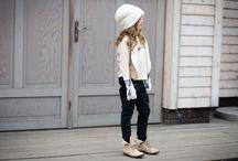 Winter inspiration for kids / Winter fashion for girls, fashionkids
