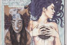 sketchbooks / sketchbook inspiration