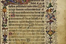 Manuscripts, calligraphy, hand lettering