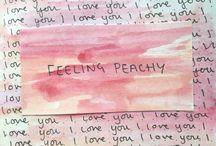 ✧ aesthetic : peachy. ✧