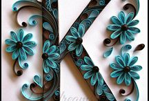 quilling letters