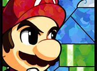 Smash Bros Vidrieras