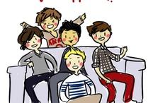 The Fab Five: One Direction :) / by Shradha Thokala