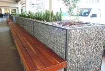 Gabion Inspirations / About different gabion ideas