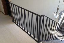 stair railing idea