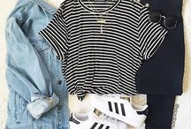superstar+gazelle outfit