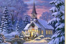 χριστουγεννιατικα τοπια και εικονες