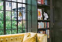 Gold Coloured Interiors Velvet