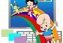 Ilustrações e Vídeos Animados da Turma do Gabi / Turma do Gabi - Criação: Moacir Torres - www.turmadogabi.com.br