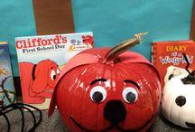 story book pumpkins
