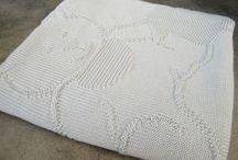Couverture tricot / Couverture tricot
