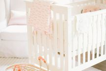 Peach Baby Bedding & Nursery Inspiration
