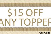 Sale $15 any mattress