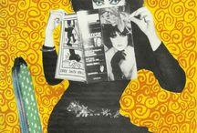 Eclectic Mix / Eclectic Random Mix of Pins. #Quirky #Funky #PopArt #Interiors #Furnishings #davidbowie #art #design #painting #photography #music #britishicons #comedy #retro #tatemodern #saatchi #artfinder #home #prints #bauhaus #geometric #abstract #pablopicasso #cubism #london #punk #viviennewestwood #damienhirst #warhol #ninasimone #jacksonpollock #davinci #dada #manray #magritte #mondrian #seurat #alanturing #debbieharry #andywarhol #modern #MOMA #petshopboys #abfab #monalisa #pietmondrian #delaunay